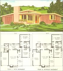 1950s ranch house floor plans national plan service no interior doors prehung