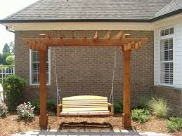 How To Build Pergola With Swing