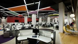 open office architecture images space. Contemporary Office Then Itu0027s Time To Get Down Business In The Open Working Space Which Can  Have Up 164 People Working To Help With Acoustics A Random Pattern Of  For Open Office Architecture Images Space H