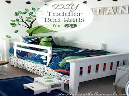 simply beautiful by toddler bed rails on the vast diy toddler bed side rail diy
