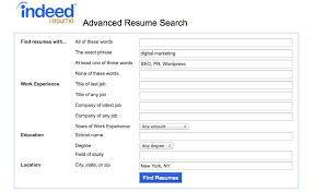 Indeed Resume Search Adorable How To Use Indeed Resume Search Indeed Resumes Search Resume Samples