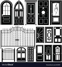 Door Vector Design Door Design
