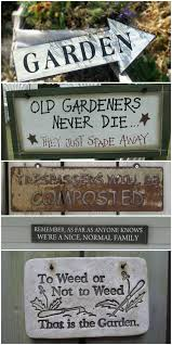 Decorative Metal Yard Signs 100 best GARDEN Signs Markers Tags ✿ images on Pinterest Craft 16