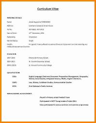 Sample Copy Of Resumes 11 Cv Formatt Writting Theorynpractice