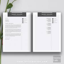 Modern Resume Template Free Doc Download Word Templates For Mac
