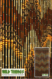 this awesome wooden beaded curtain is made out of bamboo wood and peach pits measuring x our wood door beads are perfect for a doorway or for the window