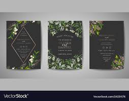 Weding Card Designs Wedding Invitation Floral Invite Rsvp Card Design