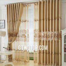 gold curtains living room. gold and brown flower patterned embroidery best cheap lace curtains living room o