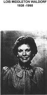 Waldorf, Lois Middleton - National Women's Hall of Fame