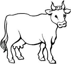 Barn Animals Coloring Pages Farm Animal Pictures To Color Coloring