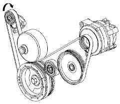 belt diagram needed fast corvetteforum chevrolet corvette belt diagram needed fast