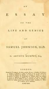 an essay on the life and genius of samuel johnson  an essay on the life and genius of samuel johnson djvu