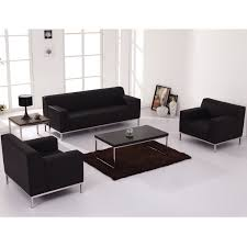 Living Room Furniture List Dark Brown Velvet Loveseat Combined With Brown Wooden Legs Coffee