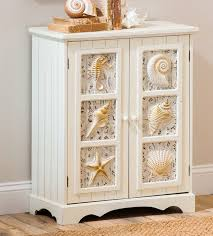 beach style shelves cabinets
