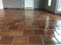 Exceptional Terracotta Bathroom Tiles 12×12 Manganese Saltillo Mexican Terracotta Clay  Floor Tile By