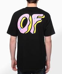 Odd Future Clothing Size Chart Odd Future Of Donut Black T Shirt