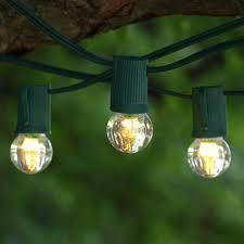 100 Light Warm White C9 String Set 100 Ft Green C9 String Light With Led G30 Warm White Bulbs