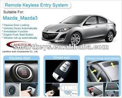 remote central door lock car alarm system for mazda