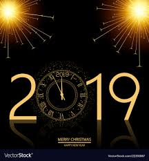 New Year Backgrounds Christmas And Happy New Year Background With Clock