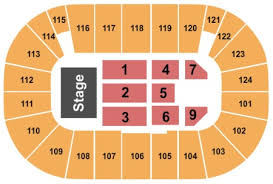 Tsongas Arena Tickets And Tsongas Arena Seating Charts