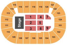 Seating Chart Tsongas Arena Lowell Ma Tsongas Arena Tickets And Tsongas Arena Seating Charts