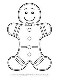 Small Picture Ginger Bread Man Coloring Pages Coloring Pages Pinterest