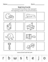 Esl phonics & phonetics worksheets for kids download esl kids worksheets below, designed to teach spelling, phonics contains 41 pages of long and short vowel practice, vowel reading exercises through text mazes. Beginning Sounds Worksheets For Preschools