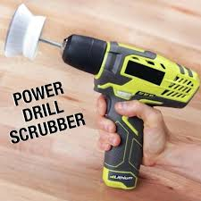 scrub brush for drill clean in half the time with this power scrubbing drill scrub scrub brush for drill