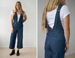 Hey June Kendrick Overalls & Dress Downloadable Sewing Pattern ...