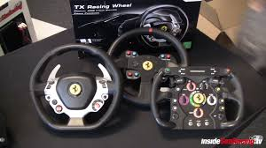 Thrustmaster ferrari 458 italia racing wheel tx edition steering wheel and pedals for. Thrustmaster Tx Racing 458 Italia Wheel And Tx 300 Pedals First Images Inside Sim Racing