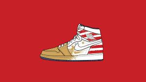 Air Jordan 1 Wallpaper Hd - wallpaper