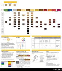 Redken Color Chart 03 Hairstyles Shades Eq Color Chart