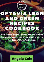 optavia lean and green recipe cookbook