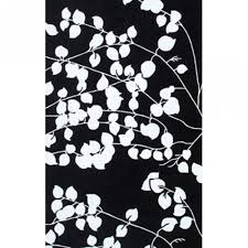 pomona black white outdoor rug 8x10