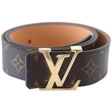 louis vuitton belt. louis vuitton belt san tulle monogram 100cm / 40 gold lv buckle w/ box 1