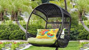 outdoor hanging furniture. Outdoor Hanging Chair With Stand Furniture D