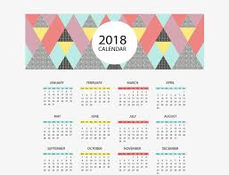 triangle puzzle 2018 calendar vector material 2018 calendar desk calendar template png and