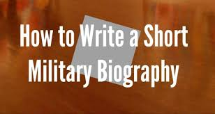 military bio format tips for writing a military bio military bio format 7 tips for writing a military bio