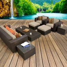Furniture Ideas posite Patio Furniture With Wooden Patern Deck