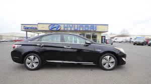 hyundai sonata 2014 black. Interesting 2014 2014 Hyundai Sonata Hybrid Limited  Black EA108265 Skagit County Mt  Vernon  YouTube To A