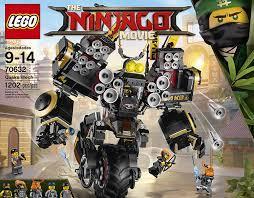 LEGO Ninjago Movie Quake Mech 70632 Toy, Building Sets - Amazon Canada