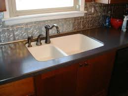 integrated acrylic sink