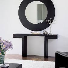 console tables  good modern console table with mirror on interior