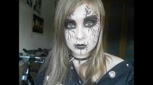 corpse paint black metal makeup tutorial