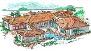 mediterranean house plans. Image Of 1352 House Plan Mediterranean Plans T