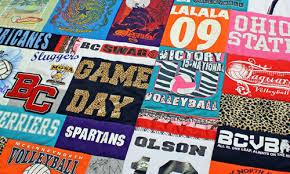T Shirt Quilt | T Shirt Blanket | Tee Shirt Quilt | Jelly Bean Quilts & T-Shirt Quilt Adamdwight.com
