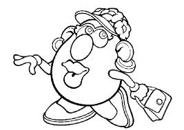 mr and mrs potato head coloring pages. Plain Potato Potato Head Colouring Pages Coloring  Inside Mr And Mrs Potato Head Coloring Pages