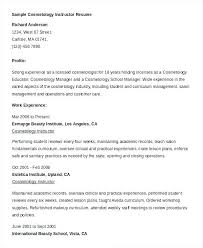 Resume Builder Download Free Resume Builder For Students Cosmetology