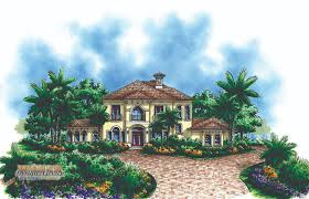 this impressive two story home plan is perfect for families and entertaining the ceiling in the great room gives the floor plan a spacious mediterranean