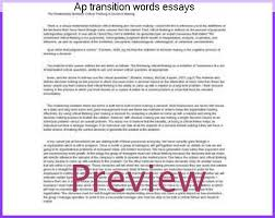 ap transition words essays custom paper writing service ap transition words essays